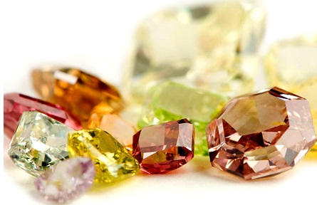 color diamond gemstone jewelry